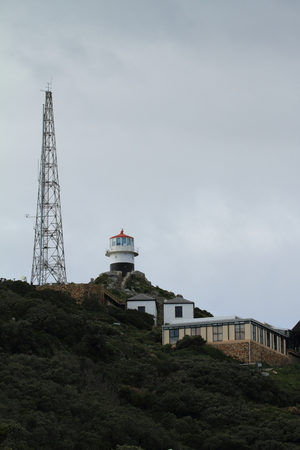 cape of good hope: The lighthouse of Cape of Good Hope in South Africa