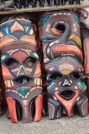 ghost mask: African Masks