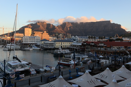 Cape Town from the Waterfront with Table Mountain