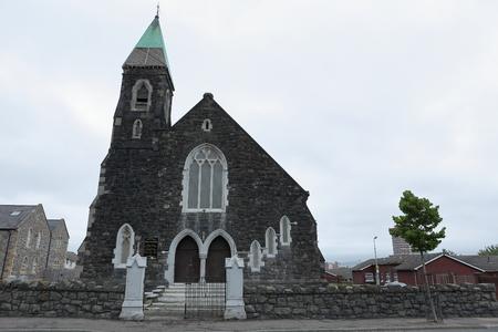 steeples: church of the Shankill Road in Belfast