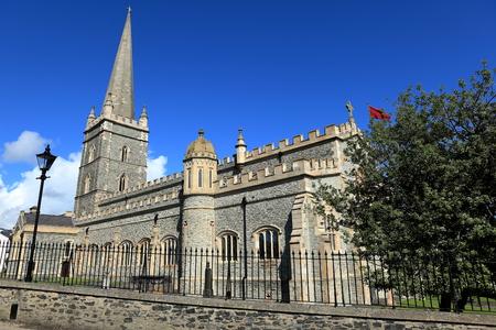 northern ireland: The churches of Derry in Northern Ireland