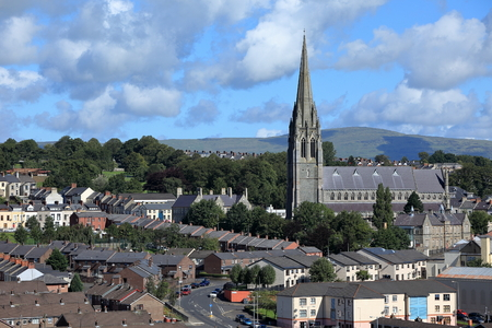northern ireland: The churches of Derry in Northern Ireland