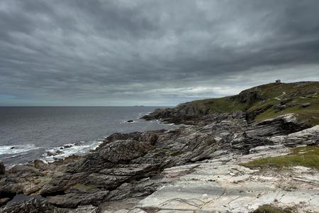 The landscape of Malin Head in Ireland