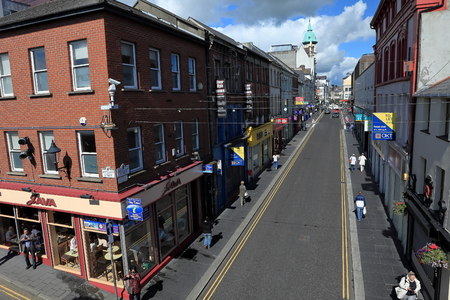 northern ireland: The City of Derry in Northern Ireland