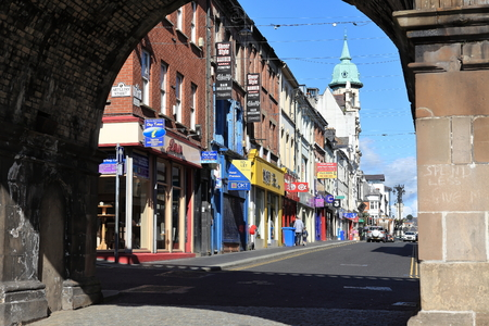 northern ireland: The City of Derry in Northern Ireland
