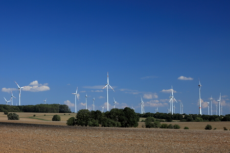 Wind turbines for electricity generation