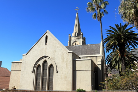 house of god: Church in Cape Town South Africa