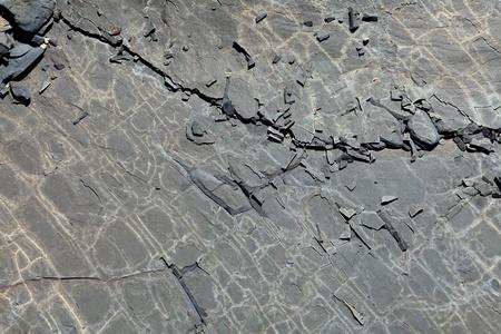 cooled: Plates cooled lava
