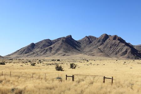 namibia: Savannah landscape in Namibia