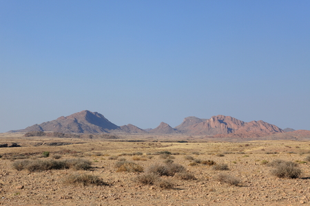 namib: Landscape in the Namib Naukluft National Park in Namibia Stock Photo