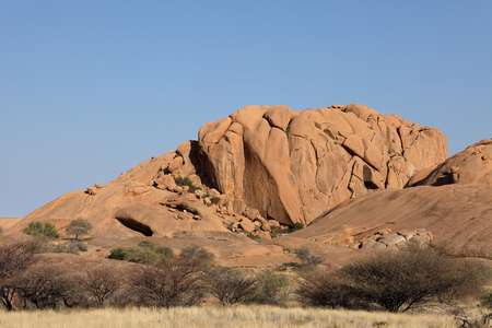 spitzkoppe: Namibia, Spitzkoppe, landscape, mountains, desert, savannah, rock, savannah landscape, drought, africa, nature, landscape, Namib, Kalahari Stock Photo