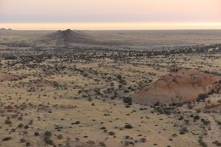 savanna: The savanna in Namibia Stock Photo