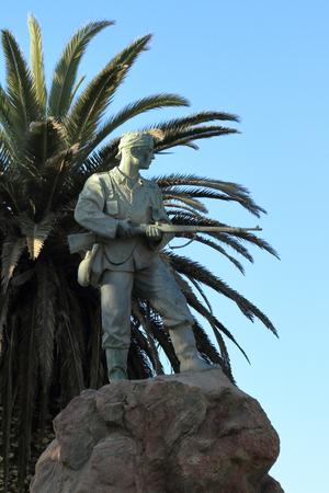 swakopmund: Soldier monument in Swakopmund