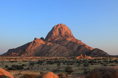 ナミビアであるスピツコッペ山