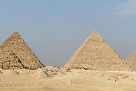 esfinge: Las Pirámides y la Esfinge de Giza en Egipto