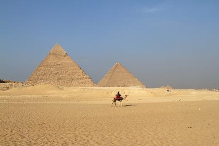 esfinge: Las Pir�mides y la Esfinge de Giza en Egipto