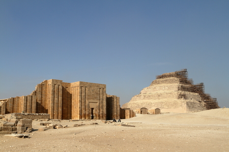 necropolis: The temples and pyramids of Saqqara in Egypt