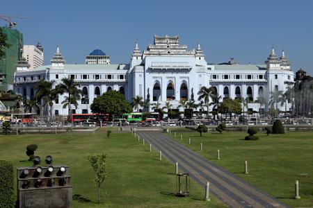 cityhall: The Cityhall of Yangon in Myanmar