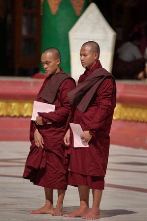 buddhist: Buddhist monks