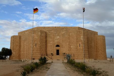 el: German war cemetery El Alamein in Egypt Stock Photo