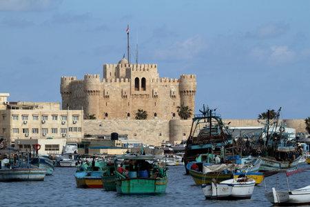alexandria: The Citadel of Alexandria in Egypt