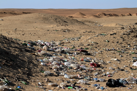 developing country: Pollution in the Sahara
