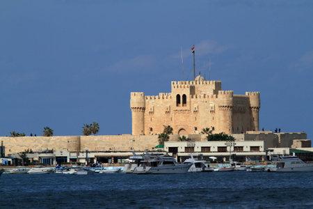 pharos: The Citadel of Alexandria in Egypt