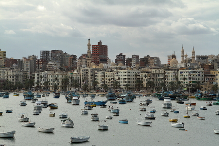 alexandria egypt: The city of Alexandria in Egypt