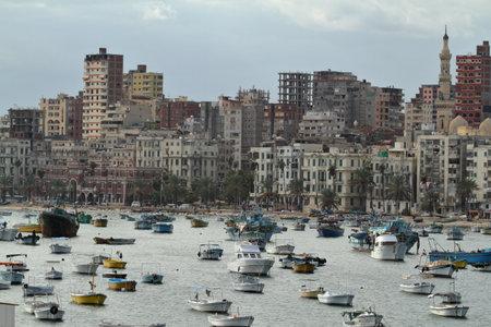 alexandria: The city of Alexandria in Egypt