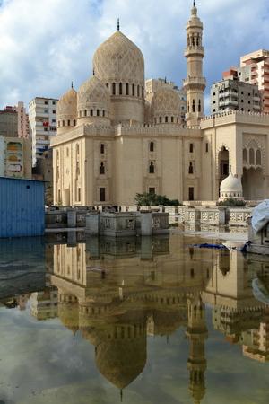 alexandria: Mosque in Alexandria in Egypt