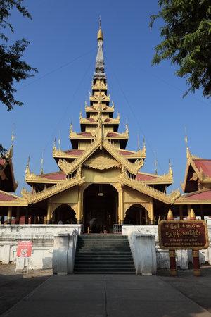Royal Palace: The Royal Palace of Mandalay in Myanmar