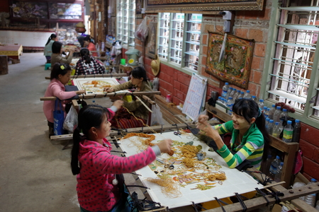 Vakmanschap in Myanmar Redactioneel