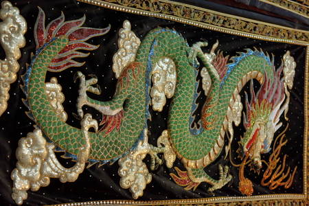 tapestry: Dragon on tapestry