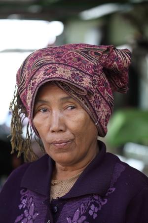 crone: Old woman in Myanmar