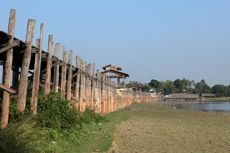 tendency: The U Bein Bridge in Myanmar