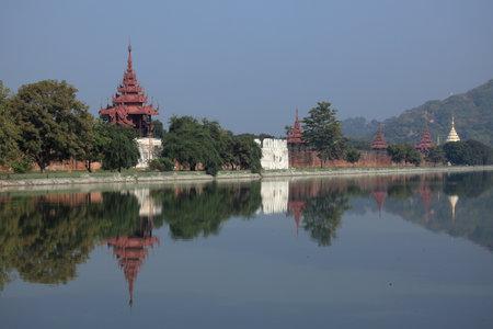 Royal Palace: The Royal Palace of Mandalay Editorial