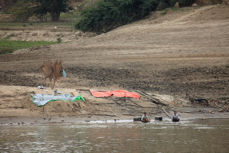 scrubbers: Gold panning on the Irrawaddy in Myanmar Editorial