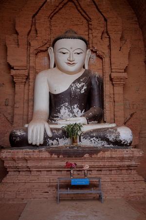 buddha statue: Buddha statue in Bagan Myanmar Stock Photo