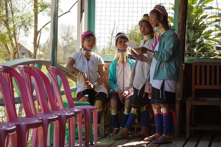 festoon: The Padaung women from Myanmar Editorial
