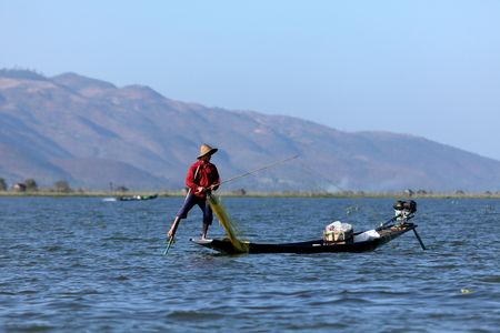 inle: The Leg Rowers from Lake Inle in Myanmar