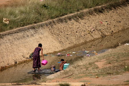 developing country: Poverty in Myanmar