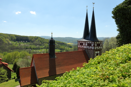 The Church of Rimbach in Germany