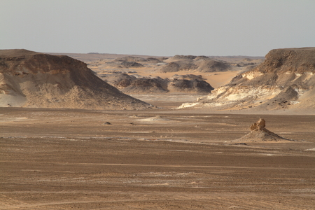 sahara: The Black Desert in the Sahara of Egypt