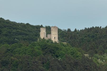 ruin: Castle ruin Brandenburg Thuringia