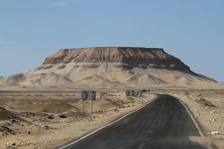 sahara: Roads through the Sahara in Egypt