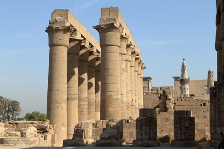 The Temple of Luxor in Egypt