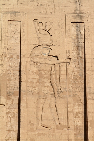 hieroglyphics: Hieroglyphics and Temple Images in Egypt