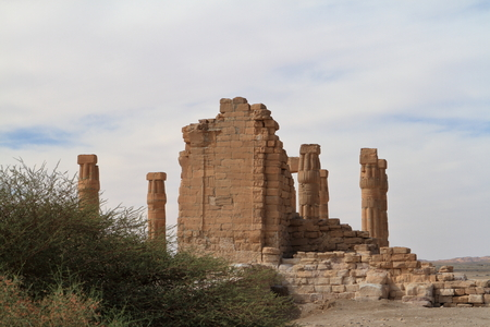 Sudan: The temple ruins of Soleb in Sudan