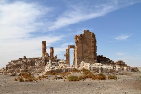 're: The temple ruins of Soleb in Sudan