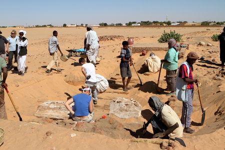 Sudan: Excavations at Jebel Barkal in Sudan